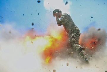 Alcanza a tomar su última fotografía ante una explosión en Afganistán