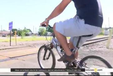 Policías en bicicleta también son víctimas de cultura vial