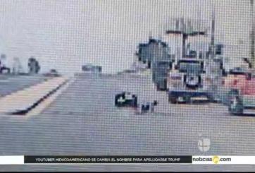 VIDEO: Bebé sale expulsado de un auto en movimiento