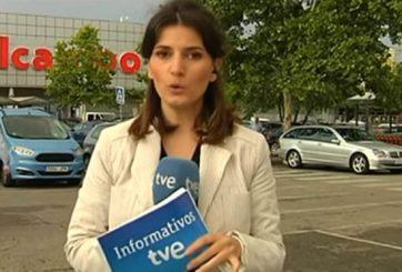 Reportera prefiere huir ante la vergüenza de equivocarse en vivo