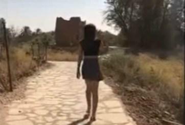 VIDEO: Detienen a joven por pasear en minifalda en Arabia Saudita
