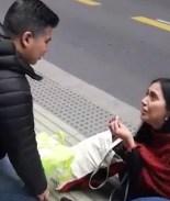 VIDEO: Novio sale corriendo tras inesperada, y desesperada, propuesta
