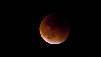 Hoy se podrá ver un eclipse lunar parcial en gran parte del mundo