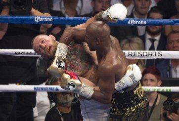 Mayweather derrota a McGregor en el décimo asalto