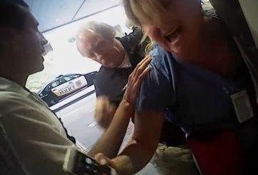 VIDEO: Arrestan a enfermera que impidió sacar sangre a paciente