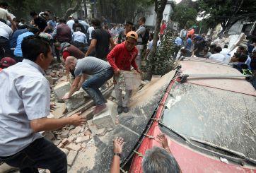 VIDEO: Van 361 muertos por el sismo de 7.1 grados en México