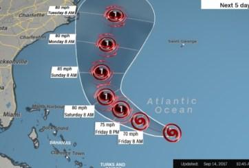 José aún amenaza a Carolina del Norte y a Nueva Inglaterra