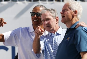 Obama, Bush y Clinton se ofrecen para vacunarse contra Covid