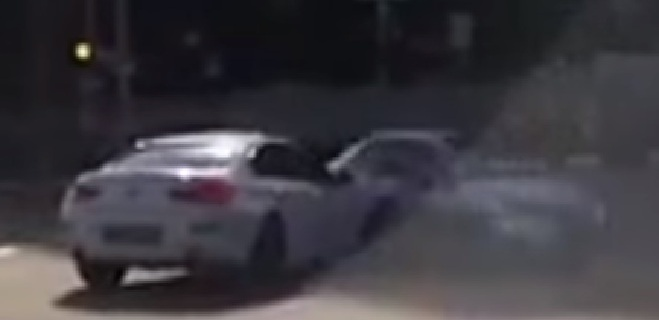 "VIDEO: Captan ""auto fantasma"" esquivando un choque"