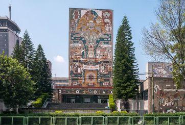 Podrían demoler dos grandes murales en México por riesgo de colapso