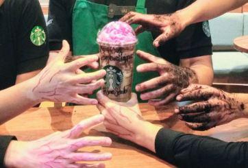 De los creadores del sabor unicornio, llega el frappuccino Zombie
