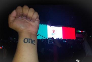 """Miles """"cantan y no lloran"""" con U2 en México"""