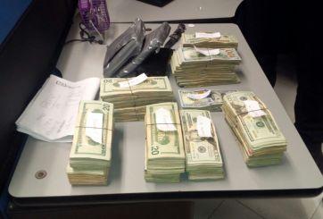 Arrestan a chofer de tráiler con 120 mil dólares cruzando la frontera