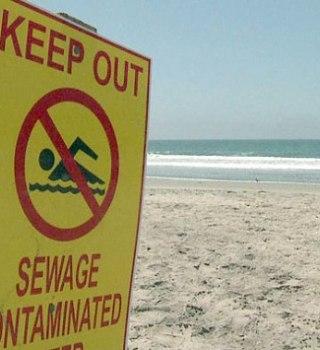 Extienten clausura de playas hasta Imperial Beach por aguas residuales