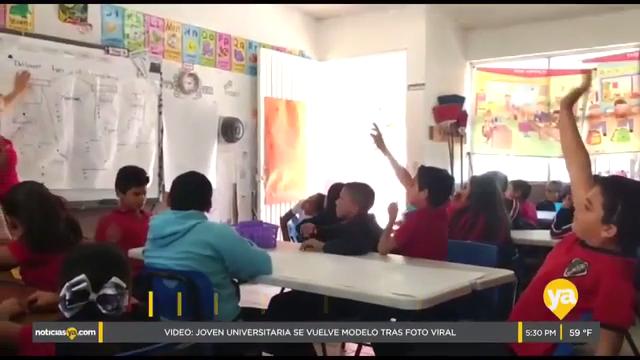 La brigada bilingüe educando a los niños de la frontera