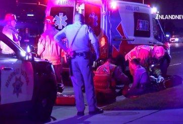 Agentes de CHP resultan heridos en persecución en Rancho Cucamonga