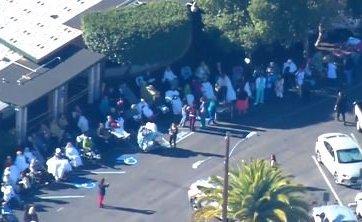 Desalojan a pacientes de Centro de Salud en San Diego por fuga de gas