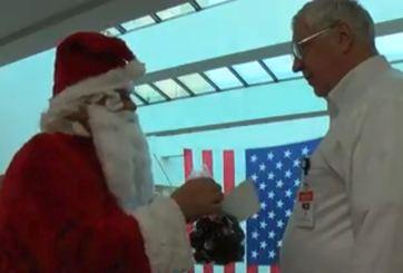 ¿Por qué un juez de Texas rechazó un regalo de Santa Claus?