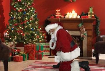 Tómale una foto a Santa cuando deje los regalos en casa: Aplicación