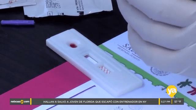 Aplican miles de pruebas rápidas de VIH a tijuanenses