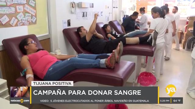 Promueven una mejor cultura de donación de sangre en Tijuana