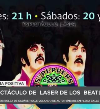 Llevan al Domo IMAX del CECUT espectáculo en láser de los Beatles