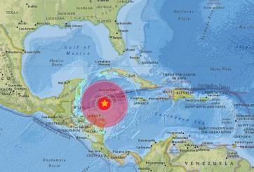Difunden videos de cómo se vivió el sismo en Honduras y el Caribe