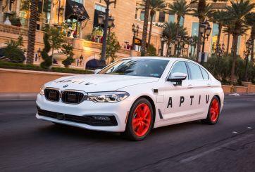 Aptiv y Lyft ofrecen viajes en autos de lujo sin conductor en el CES
