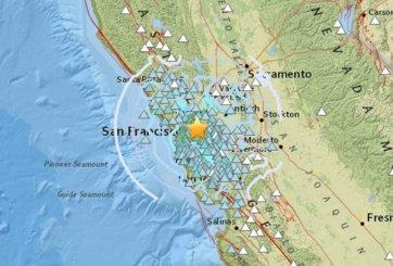 Sismo de 4.4 sacude el área de la Bahía de San Francisco