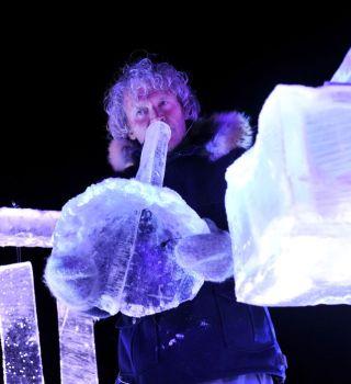 VIDEO: Estos músicos tocan instrumentos hechos de hielo