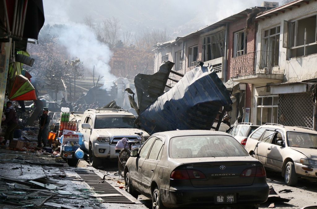 muertos en Kabul