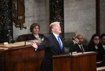 Menos de la mitad aprueba del discurso del Estado de la Unión de Trump