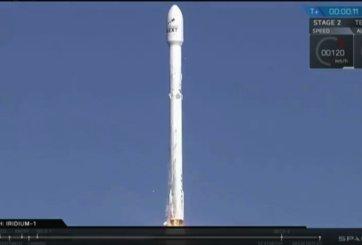 Finalmente lanzan los satélites a bordo del cohete Falcon 9 de SpaceX