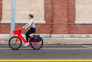 Uber lanza programa piloto de bicicletas compartidas en San Francisco