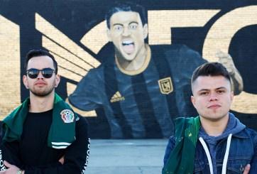Vandalizan el mural de Carlos Vela hecho por dos artistas mexicanos