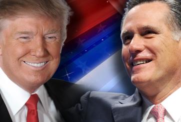 Donald Trump apoya la candidatura de Mitt Romney a senador por Utah