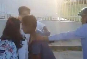 VIDEO: Estudiante golpea a ladrón que lo asaltó dos veces