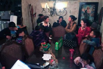 Rescatan a 273 migrantes en tres días en México; 109 eran niños
