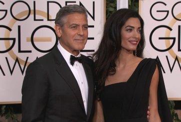 Los Clooney donan medio millón para marcha para el control de armas