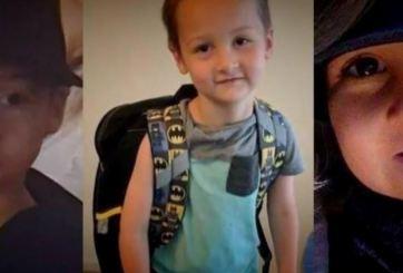 Detienen a la madrastra de Lucas, el niño perdido en Kansas