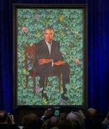 Pintura de Barack Obama provoca bromas y memes en redes sociales
