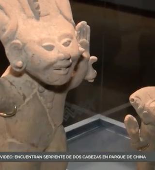 Exponen piezas arqueológicas que exploran la magia de la sonrisa