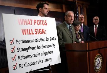 Tras muchos desacuerdos, el Senado decide votar por un plan migratorio