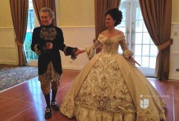 ¿Cómo hacen los vestuarios para el festival George Washington?