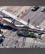 Así fue la construcción del puente que colapsó en Miami