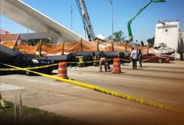 Ingeniero había advertido sobre riesgo del puente que colapsó en Miami