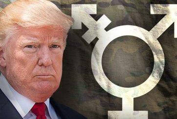 Casa Blanca prohíbe que personas transgénero sirvan en el Ejército