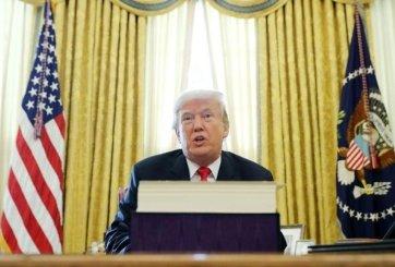 Sándwich inspirado en Donald Trump gana la bienal de arte