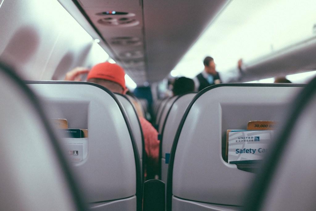 Agresion en vuelo