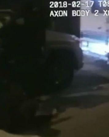 VIDEO: En segundos, policías lanzan lluvia de disparos contra sospechoso